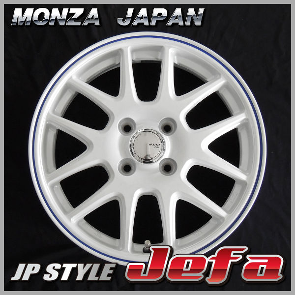 送料無料 155/65R13 マッドスターM/T ホワイトレター マッドテレーン JPスタイル JEFA ホワイトブルーライン