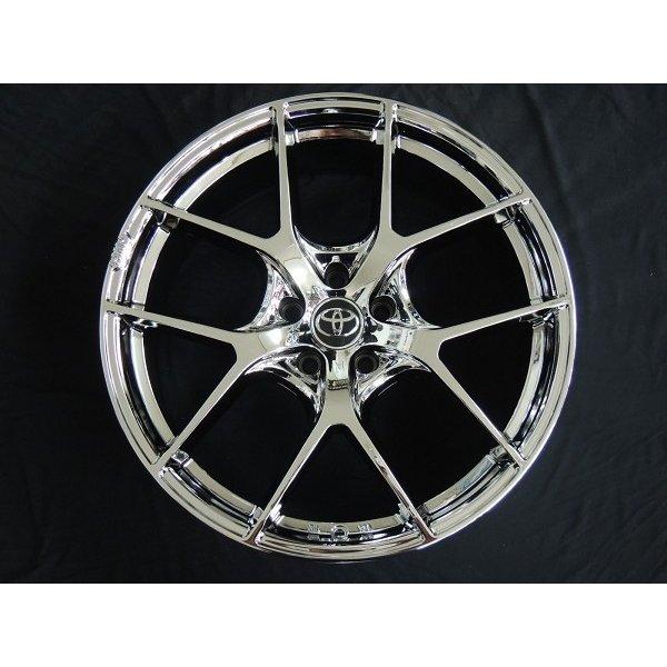 送料無料 ハリアー RAV4 車種専用 RMP 025F-fL スーパーブライトクローム トヨタ純正オーナメント専用設計 245/45R20 ブリヂストン タイヤセット