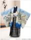 七五三 5歳 男の子 着物レンタル d5310 袴レンタル 753フルセット 貸衣装 卒園式 子供着物 2020 七草祝い 人気 「光」ブランド 水色縁起熨斗に飛翔鷹