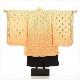 5歳 男の子 七五三レンタル d4235 着物レンタル 753 「100cm〜110cm」フルセット 袴レンタル 卒園式 4歳 5才 七草祝い 貸衣装 羽織 人気 おしゃれ かっこいい 子供着物 黄色×オレンジぼかしに吉祥鱗模様