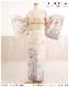 訪問着レンタル トールサイズ hw1482 高身長対応 166cm〜173cm 卒業式 着物レンタル 母 入学式 結婚式 七五三 ママ フルセット お宮参り 753 卒園式 正絹 母親 kimono 人気 お茶会 houmongi 往復送料無料 「ジャパンスタイル」ブランド 淡いクリームに百慶華
