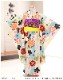 7歳 女の子 着物レンタル 七五三 j7298 フルセット 753 子供着物 6歳 7才 初詣 七草 前撮り 人気 おしゃれ モダン 2021 かわいい 「花わらべ」ブランド 水色ストライプに吉祥慶花