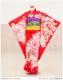 七五三レンタル 「京」ブランド  赤地に絢爛祝花  j7005【7歳女児/女の子七五三】《レンタル七五三》《753レンタル》〔2020〕〔子供着物〕〔貸衣装〕〔七歳〕〔7才〕〔しちごさん〕
