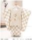 七五三 3歳 男の子 着物レンタル df075 被布セット 子供着物 753 貸衣装 2021 イベント 結婚式 三才 人気 男 初詣 誕生日 かわいい 「花わらべ」ブランド スタイルベージュ×水玉模様