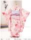 3歳 女の子 着物レンタル 七五三 j3019 帯セット 結び帯 フルセット 753 人気 かわいい 日本 子供着物 貸衣装 結婚式 2020 着物イベント 往復送料無料 「式部浪漫」KAGURA やさしいピンク彩花