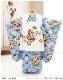 七五三 3歳 男の子 着物レンタル df016 被布セットレンタル 子供着物 753 貸衣装 2020 イベント 結婚式 三歳 人気 男 初詣 誕生日 かわいい 「FROM KYOTO」 水色に祝いの縁起小槌
