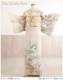 桂由美 訪問着レンタル hw1385 卒業式 母 着物レンタル 入学式 結婚式 七五三 【フルセット】 お宮参り 753 卒園式 正絹 753 ママ 母親 kimono houmongi 人気 結納 お茶会 「清絞辻ヶ花」