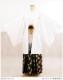 卒業式 紋付袴レンタル 男  [白/ホワイト×黒金亀甲袴] mo066-4【紋付きフルセット】《羽織袴レンタル》《着物レンタル》〔袴レンタル〕〔男性着物〕〔貸衣装〕〔卒業式〕〔kimono〕〔結婚式〕〔前撮り〕〔イベント〕〔和服〕