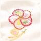 3歳 女の子 正絹 七五三レンタル 高級着物 f1451 プレミアムクラス 被布セット 絹のお着物 着物レンタル 753 貸衣装 2021 3才 結婚式 和服 子供着物 人気 モダン かわいい 高級生地 誕生日 hifu 往復送料無料 上品なピンクに白地刺繍柄