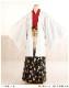 成人式 紋付袴レンタル 男 着物レンタル mo802s フルセット 羽織袴 成人式レンタル かっこいい おしゃれ 二十歳 正月 貸衣装 メンズ 2021 人気 「白羽織武田菱×赤地着物に黒金袴」