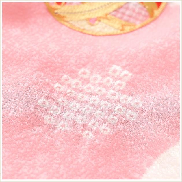 3歳 女の子 正絹 七五三レンタル 高級着物 f1453 プレミアムクラス 被布セット 絹のお着物 着物レンタル 753 貸衣装 2021 3才 結婚式 和服 子供着物 人気 モダン かわいい 高級生地 誕生日 hifu 往復送料無料 上質ピンクに金彩鞠と刺繍華