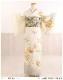 訪問着レンタル 卒業式 hw1444 着物レンタル 母 入学式 結婚式 七五三 ママ フルセット お宮参り 753  卒園式 正絹 母親 kimono 人気 お茶会 houmongi 「クリームにしだれ吉祥慶彩花」