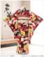 ジュニア着物レンタル 「ぷちぷり」ブランド 黒地に和モダン吉祥華 jk099【女の子フルセットレンタル】/13まいり/結婚式/十三参りレンタル/10歳/11歳/12歳/13歳/卒業式/女の子/イベント/発表会/貸衣装/二分の一成人式/ジュニア振袖/