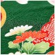 7歳 女の子 正絹 着物レンタル 七五三 j7286 フルセット 753 高級 子供着物 6歳 7才 結婚式 七草祝い 人気 レトロ モダン かわいい 2020 貸衣装 発表会 「式部浪漫」ブランド 緑地に絢爛慶び彩華