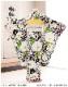 10歳〜13歳 ジュニア 女の子 着物レンタル jk0154 フルセット 一三参り 結婚式 卒業式 イベント 発表会 二分の一成人式 ジュニア振袖 子供着物 人気 かわいい 「九重」ブランド 白地に彩り吉祥麗花