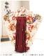卒園式 袴レンタル 女の子 h7291 幼稚園 保育園 卒園袴レンタル フルセット 謝恩会 正絹着物 子供着物 6歳 7歳 春 3月 かわいい 往復送料無料 「紅一点」 白地に縁起折鶴×エンジ袴
