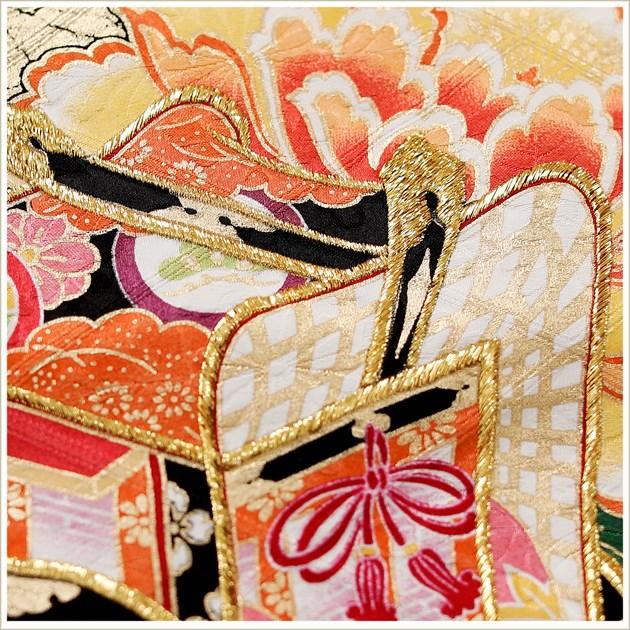 振袖 レンタル 成人式 結婚式 fb1271 結納 振り袖レンタル 食事会 フルセット 卒業式 着物レンタル 古典 レトロ モダン 春の成人式 前撮り かわいい 正絹 人気 往復送料無料 緑地に彩り慶花吉祥御所車