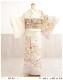 訪問着レンタル 卒業式 hw1450 着物レンタル 母 入学式 結婚式 七五三 ママ フルセット お宮参り 753  卒園式 正絹 母親 kimono 人気 お茶会 houmongi 「クリームぼかし金彩彩りの慶華」