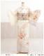 訪問着レンタル 卒業式 hw1451 着物レンタル 母 入学式 結婚式 七五三 ママ フルセット お宮参り 753  卒園式 正絹 母親 kimono 人気 お茶会 houmongi 「クリームぼかし彩りの縁起慶華」