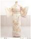 訪問着レンタル 卒業式 hw1452 着物レンタル 母 入学式 結婚式 七五三 ママ フルセット お宮参り 753  卒園式 正絹 母親 kimono 人気 お茶会 houmongi 「クリームぼかし彩り松竹慶華」