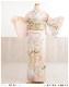 訪問着レンタル 卒業式 hw1453 着物レンタル 母 入学式 結婚式 七五三 ママ フルセット お宮参り 753  卒園式 正絹 母親 kimono 人気 お茶会 houmongi ピンクに吉祥扇しだれ慶彩花」