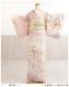 訪問着レンタル 卒業式 hw1454 着物レンタル 母 入学式 結婚式 七五三 ママ フルセット お宮参り 753  卒園式 正絹 母親 kimono 人気 お茶会 houmongi ピンクに慶びの貝桶彩りの麗華
