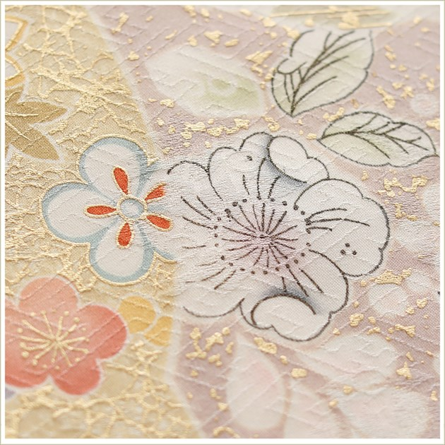 訪問着レンタル 卒業式 hw1422 着物レンタル 母 入学式 結婚式 七五三 ママ フルセット お宮参り 753  卒園式 正絹 母親 kimono 人気 粋 お茶会 houmongi 上品なピンクに慶び麗華と辻が花