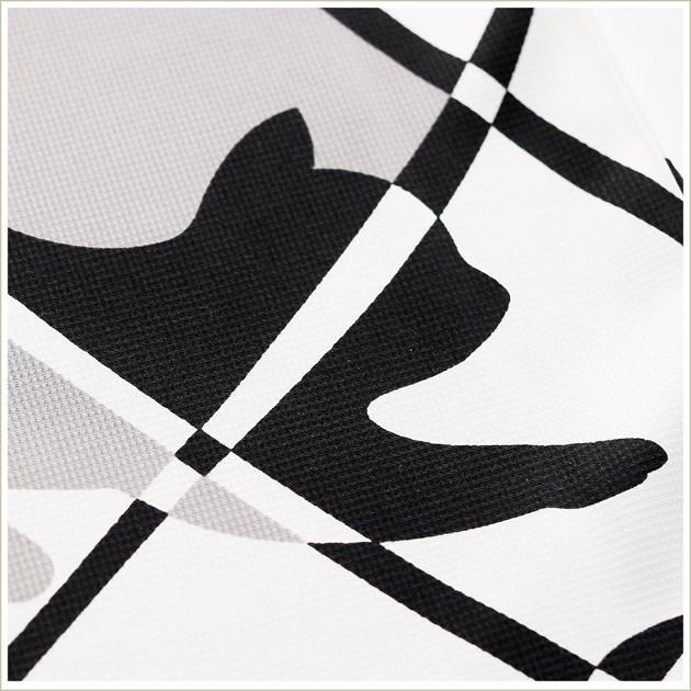成人式 振袖レンタル fb1313s 振り袖レンタル 20歳 1月 お正月 高級振袖 レトロ モダン かわいい フルセット 貸衣装 着物レンタル 2022 「モノトーン幸せの猫シルエット」