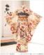 10歳〜13歳 ジュニア 女の子 着物レンタル jk0125 フルセット 一三参り 結婚式 卒業式 イベント 発表会 二分の一成人式 ジュニア振袖 子供着物 人気 かわいい 「しゃれっこ」ブランド 優しいクリームに絢爛祝花