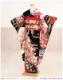 【成人式 振袖レンタル】【振袖 レンタル】【振袖 レンタル 成人式】 慶長絞り地振袖 黒地に慶花古典の奏 fb1077s 【振袖 成人式】【振袖 フルセット】〔貸衣装〕〔振り袖〕〔着物レンタル〕〔古典〕〔二十歳〕 2022