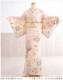 訪問着レンタル 夏用 単衣 sh1064 結婚式 お宮参り【訪問着フルセット】単 着物レンタル お宮参り 貸衣装 イベント kimon /サマー 夏 6月 7月 8月 9月 結婚式 涼しい ママ 母 母親 houmongi 「乙葉」ブランド ピンクに彩りの慶華毬