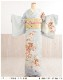 大きいサイズ 訪問着レンタル hh1461 卒業式 母 着物レンタル フルセット 入学式 結婚式 七五三 お宮参り広巾 広幅 LLサイズ big レンタル訪問着 貸衣装 お茶会 高級 houmongi 正絹 ママ 母親 往復送料無料 水色に絢爛慶祝華と縁起貝桶