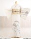 【夏用】単衣訪問着レンタル 白地に慶麗辻が花 sh1067【訪問着フルセット】/単/着物レンタル/お宮参り/貸衣装/イベント/サマー/夏/6月/7月/8月/9月/付け下げ/結婚式/涼しい/ママ/母/母親