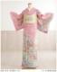 単衣 訪問着レンタル sh1112 夏用 着物レンタル 訪問着フルセット 単 結婚式 お宮参り イベント サマー 夏 6月 7月 8月 9月 付け下げ 涼しい ママ 母 母親 houmongi  ピンクに慶華金刺繍