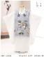 七五三 3歳 男の子 正絹 着物レンタル df074 被布セット 子供着物 753 貸衣装 イベント 結婚式人気 2020 男 初詣 かわいい かっこいい 「高級正絹着物」 「高級正絹着物」 白×グレー慶び金彩飛翔鷹