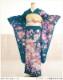 【単衣】【単】夏用 振袖レンタル ミントグリーンに優慶吉祥花の舞 sf1509【フルセット】/振り袖/レンタル振袖/着物/結婚式/結納/夏/夏期/貸衣装/イベント/食事会/5月/6月/7月/8月/9月/10月/kimono/furisode/涼しい/ひとえ/古典/