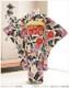 ジュニア着物レンタル 「KANSAI」ブランド 白黒モダンに彩華壮麗 jk0107【女の子フルセットレンタル】/13まいり/結婚式/十三参りレンタル/10歳/11歳/12歳/13歳/卒業式/女の子/イベント/発表会/貸衣装/二分の一成人式/ジュニア振袖/