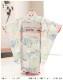 3歳 女の子 着物レンタル 七五三 j3015 帯セット 結び帯 フルセット 753 人気 かわいい 日本 子供着物 貸衣装 結婚式 2020 着物イベント 往復送料無料 「式部浪漫」KAGURA やさしい青に祝慶花