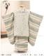 七五三 3歳 男の子 着物レンタル df043 被布セット 子供着物 753 貸衣装 2021 イベント 結婚式 三歳 人気 男 初詣 誕生日 かわいい 「花わらべ」 パールミスト×シンプルモダン