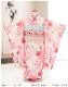 3歳 女の子 着物レンタル 七五三 j3016 帯セット 結び帯 フルセット 753 人気 かわいい 日本 子供着物 貸衣装 結婚式 2020 着物イベント 往復送料無料 「式部浪漫」KAGURA やさしいピンク彩花