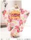 3歳 女の子 着物レンタル 七五三 j3017 帯セット 結び帯 フルセット 753 人気 かわいい 日本 子供着物 貸衣装 結婚式 2020 着物イベント 往復送料無料 「式部浪漫」 クリームに彩りの鞠祝花