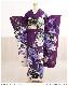 成人式 振袖レンタル fb1259s 振り袖レンタル レトロ モダン かわいい 【振袖レンタル 成人式】 フルセット 貸衣装 着物レンタル 20歳 二十歳 1月 お正月 紫×白に美麗の吉祥慶華 2022