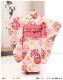 3歳 女の子 着物レンタル 七五三 j3018 帯セット 結び帯 フルセット 753 人気 かわいい 日本 子供着物 2020 貸衣装 結婚式 着物イベント 往復送料無料 「式部浪漫」 ピンクに彩りの鞠祝花
