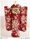 成人式 振袖レンタル fb1283s 振り袖レンタル  20歳 1月 お正月 高級振袖 レトロ モダン かわいい フルセット 貸衣装 着物レンタル 2022 「赤地に古典慶びの彩華模様」