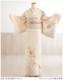 単衣 訪問着レンタル 夏用 sh1089 着物レンタル 付下げ フルセット 結婚式 お宮参り 夏 6月 7月 8月 9月 付け下げ 涼しい ママ 母 母親 houmongi 正絹「ライトクリームに古典吉祥華」