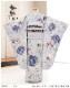 7歳 女の子 着物レンタル 七五三 j7292 フルセット 753 子供着物 6歳 7才 結婚式 七草 人気 ジルスチュアート モダン 2020 かわいい  「JILLSTUART」ブランド 蒼藤色にモダン想麗華