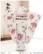 7歳 女の子 着物レンタル 七五三 j7293 フルセット 753 子供着物 6歳 7才 結婚式 七草 人気 ジルスチュアート モダン 2020 かわいい  「JILLSTUART」ブランド クリームにモダン想麗華