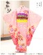 7歳 女の子 正絹 着物レンタル 七五三 j7310 フルセット 753 高級 子供着物 6歳 7才 結婚式 七草祝い 人気 レトロ モダン おしゃれ 上質着物 2021 貸衣装 発表会 綺麗なピンク疋田柄と吉祥御所車