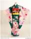 〔7歳 女の子 七五三〕〔フルセット〕〔着物 レンタル〕 j7007 緑×華蝶の舞【7歳 着物 七五三】〔七五三 レンタル〕〔753〕〔セット〕〔2020〕〔子供着物〕〔結婚式〕〔発表会〕〔貸衣装〕〔七歳〕〔7才〕[衣装レンタル/レンタル衣装/着物]