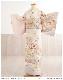 訪問着レンタル 小さいサイズ hw1398s 卒業式 着物レンタル 母 入学式 結婚式 七五三 ママ【Sサイズ 訪問着フルセット】お宮参り 753 卒園式 正絹 母親 kimono 人気 粋 お茶会 houmongi 往復送料無料 高級 ピンクに古典縁起の慶彩華